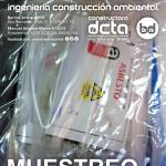 muestreo de asbesto